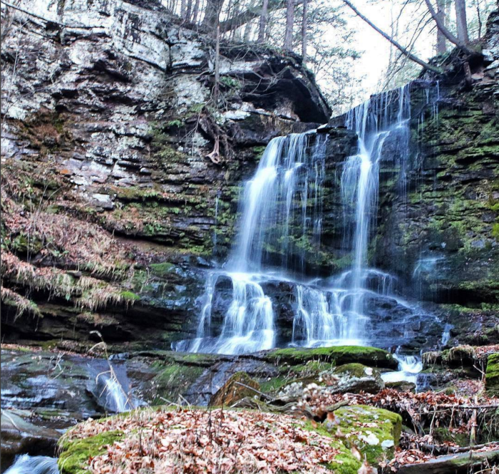 The Ultimate Pennsylvania Waterfalls Road Trip Is Here - And You'll Want To Do It