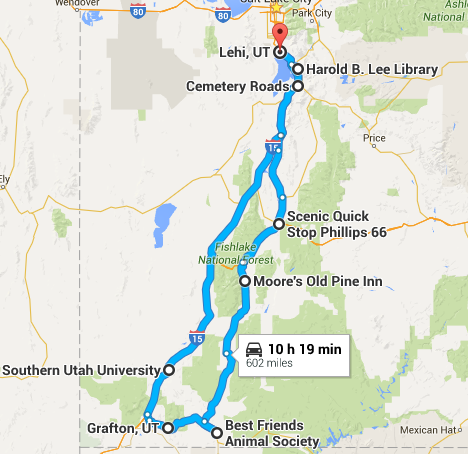 Southern Utah Haunted Spots Road Trip