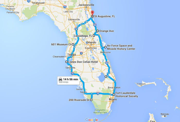 The Ultimate Terrifying Florida Road Trip