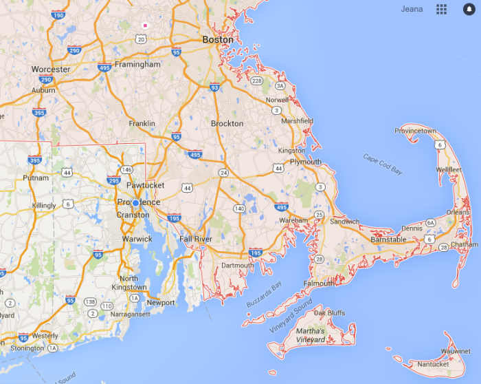 1. Is that part of Massachusetts?