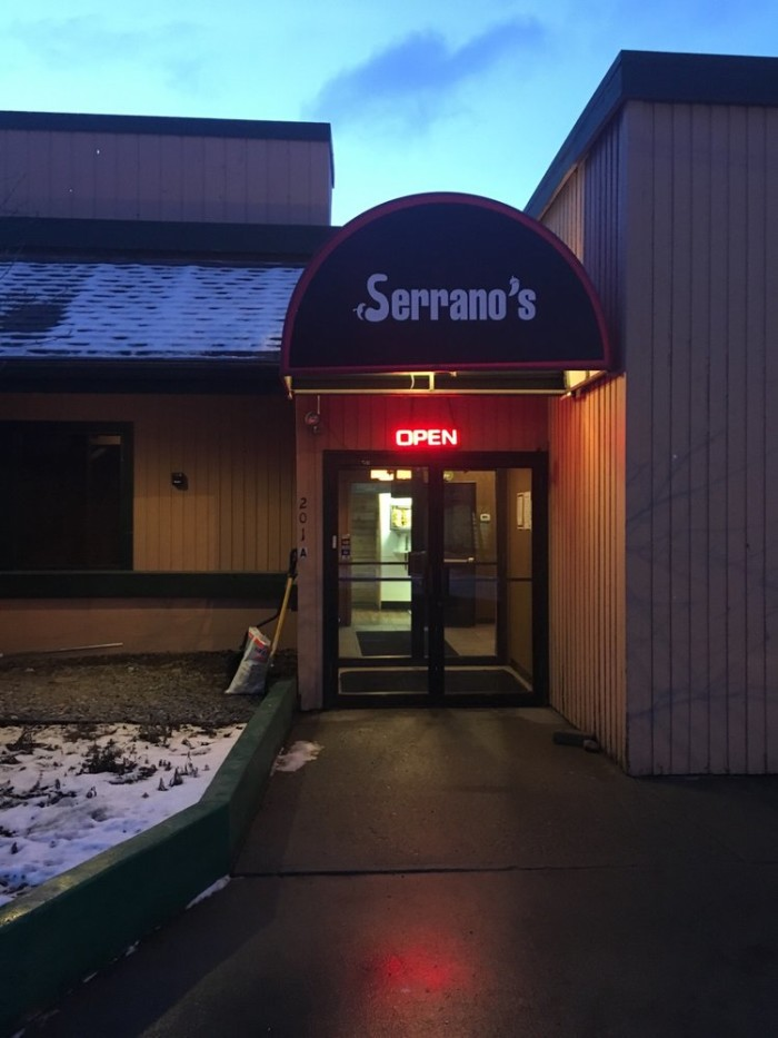 3) Serrano's Mexican Grill in Anchorage