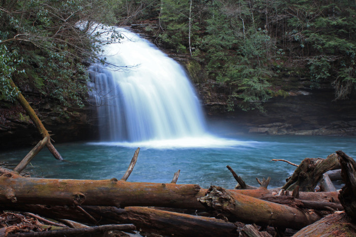 8. Stinging Fork Falls - Stinging Fork Falls State Natural Area