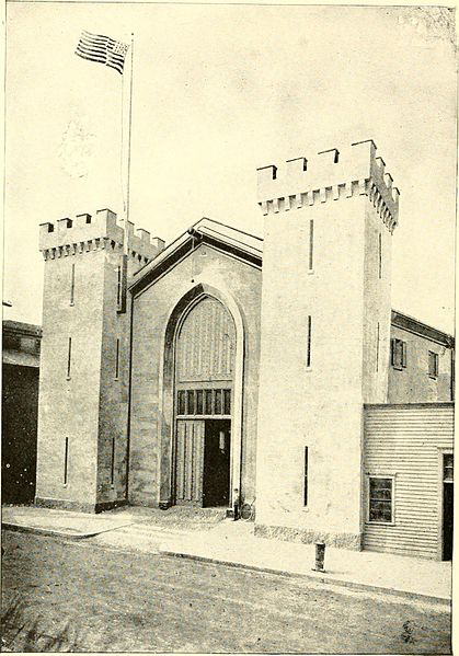 6. The State Arsenal found in Providence was designed in 1839. This picture dates back to the 1920s.