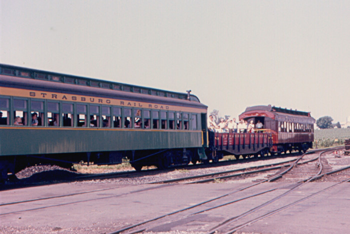11. The Strassburg Tourist Train in 1966, on its way to Paradise.