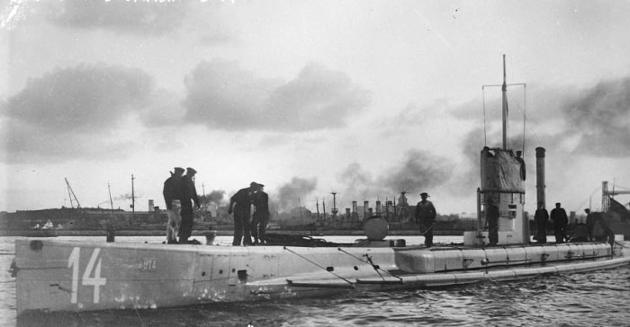 6. When a German U-boat opened fire on Orleans  during World War I on the morning of July 21st, 1918.