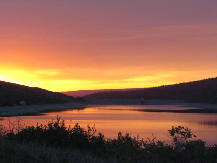 "4. ""Sunrise at Mary Glacier"""