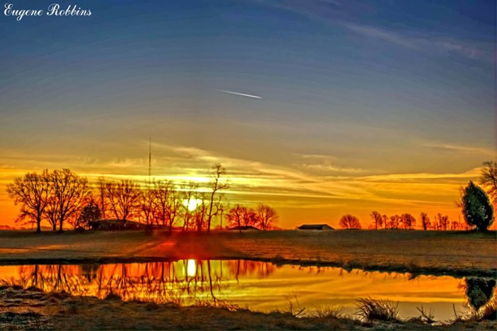 2. Sunrise in Hancock County