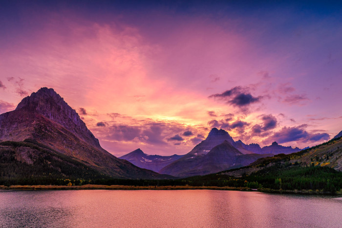 "6.  ""Swiftcurrent Lake"""