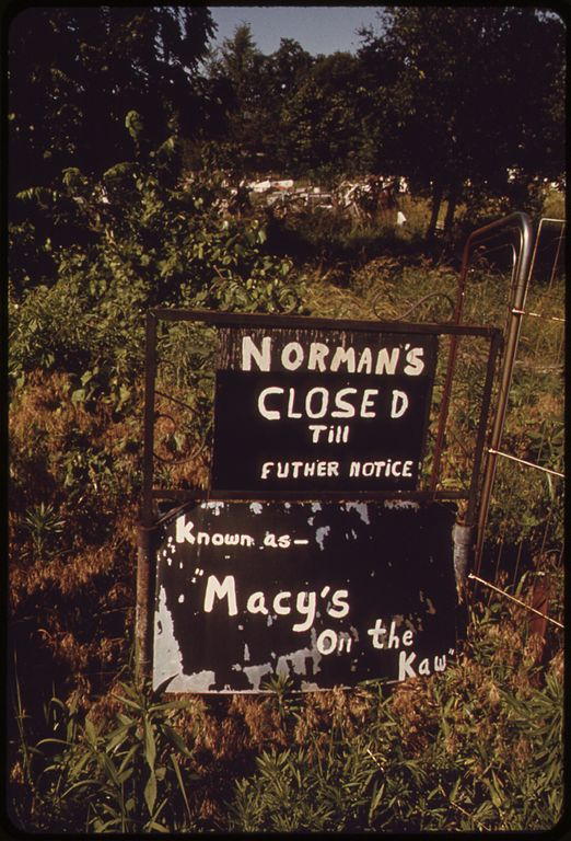 "8. ""The owner of this huge junk shop on the Kansas River in Bonner Springs died in 1971."" (1973)"