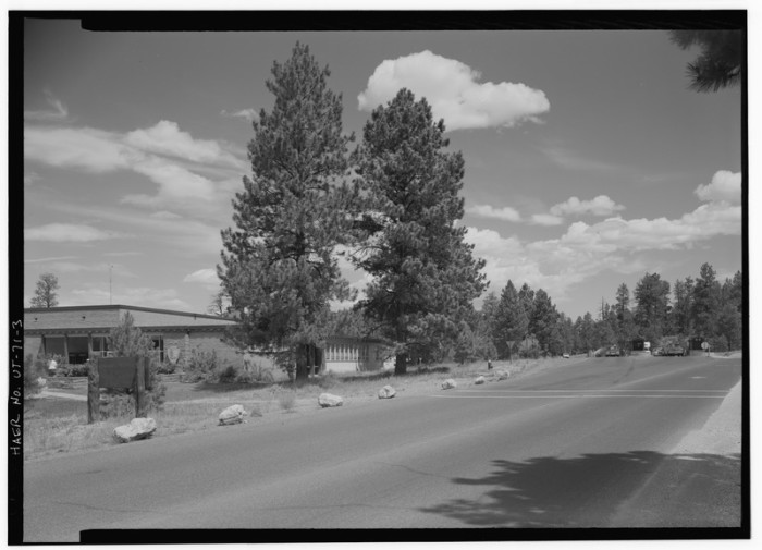 11. Entrance Station and Visitor Center, Bryce Canyon, 1968