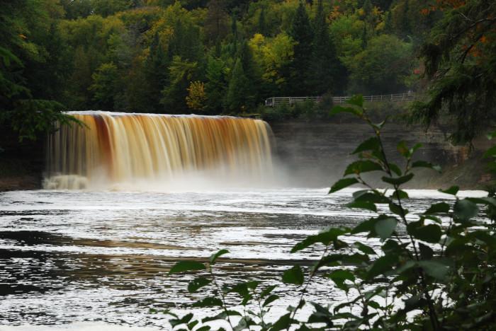 2. Tahquamenon Falls