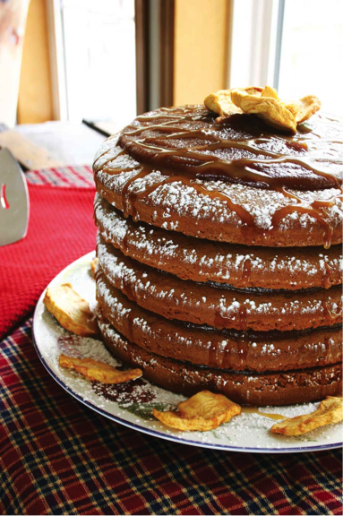 2) Tennessee Mountain Stack Cake
