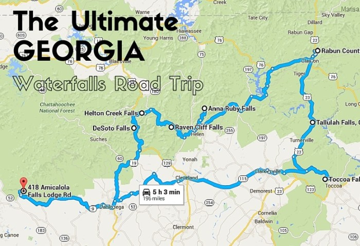 The Ultimate Georgia Waterfalls Road Trip