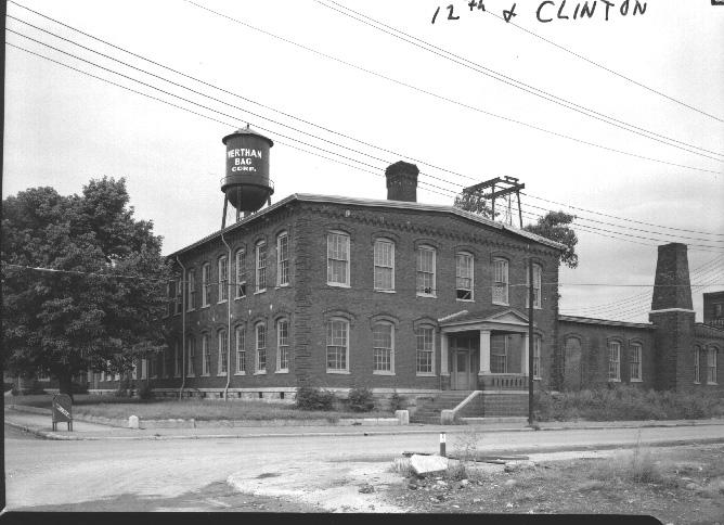 16. The former Marathon Motors building