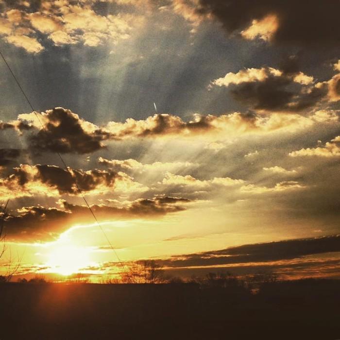 1. The heavens
