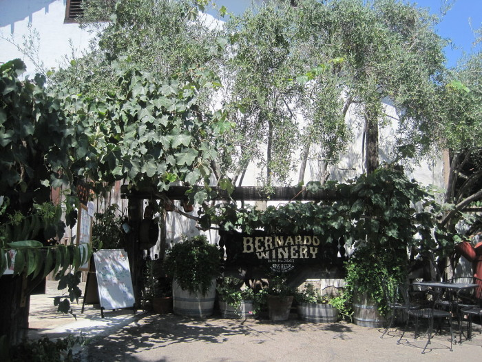 4. Bernardo Winery in Rancho Bernardo is the oldest operating winery and vineyard in San Diego county. You will experience old-world charm as you stroll through the grounds of this unexpected gem just outside the city.