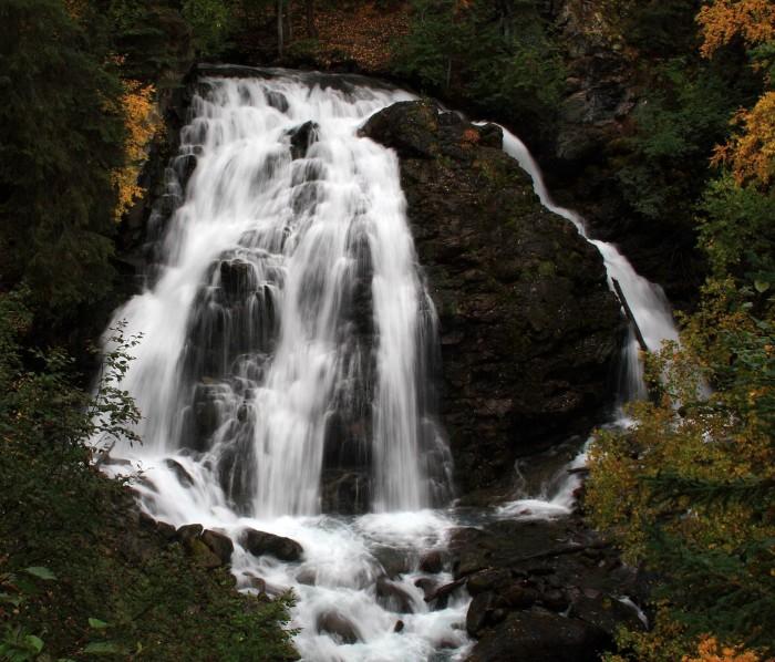 2. South Fork Eagle River Falls