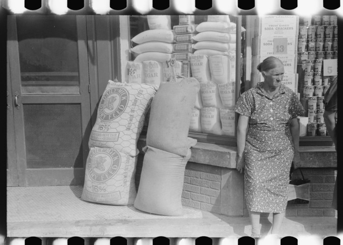 5. There was usually one small grocery store in town, and flour sacks were reusable.