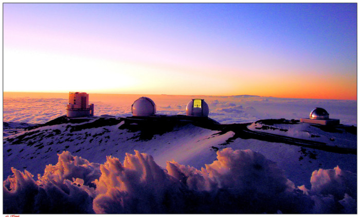 17. This grand observatory sits above the clouds.