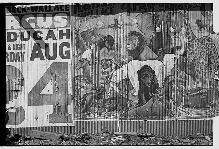 4. This was a circus ad circa 1935, which is much different than the extreme commercialism used today.