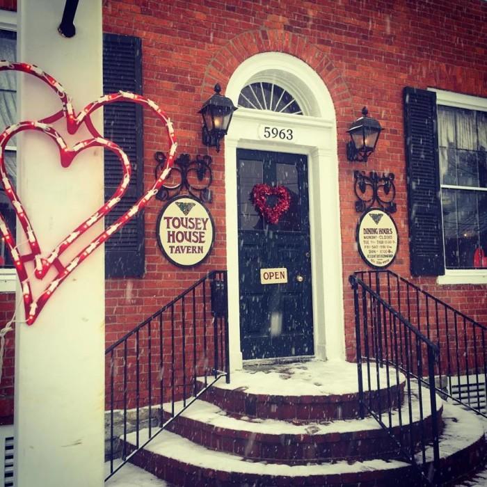 3. Tousey House Tavern at 5963 N Jefferson Street in Burlington