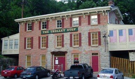 4) The Trolley Stop, Ellicott City