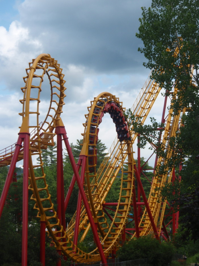 Spend a day at one the amusement parks!