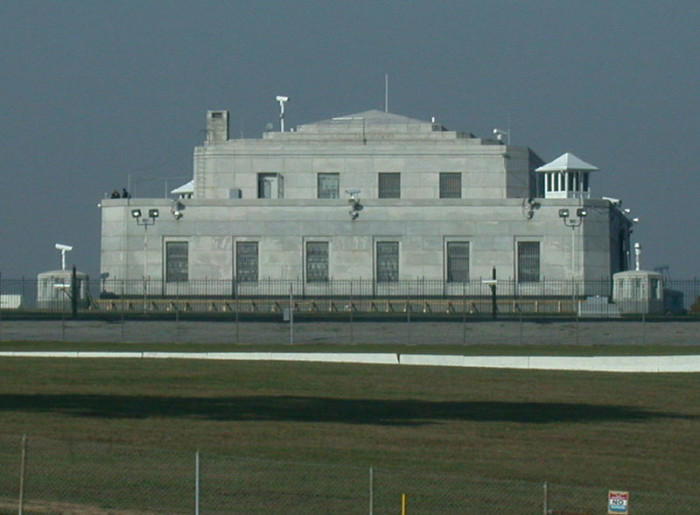 6. U.S. Gold Depository at Gold Vault Road and Bullion Blvd in Fort Knox