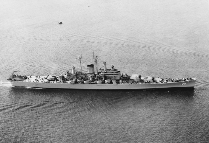 1. USS Salem, Quincy