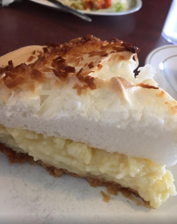 11. Eating a slice of Norma's award-winning coconut cream pie that was actually made by Norma.