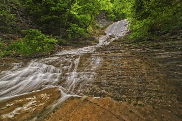 6. Buttermilk Falls