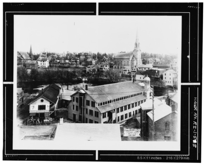 10. Slater Mill was nearing the end of its days as an active textile mill when this photo was taken at the turn of the century. This is an amazing image documenting the rich history of this site in Pawtucket.