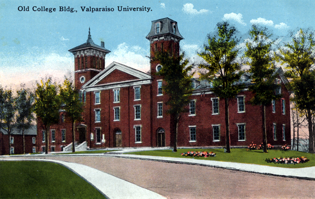 1923: Valparaiso University, in danger of bankruptcy, was put up for sale…and nearly sold to the KKK.