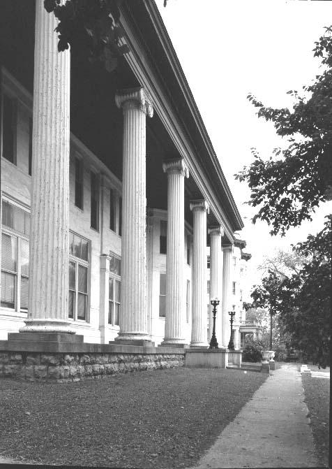 7. Vintage shot of the Belmont Mansion