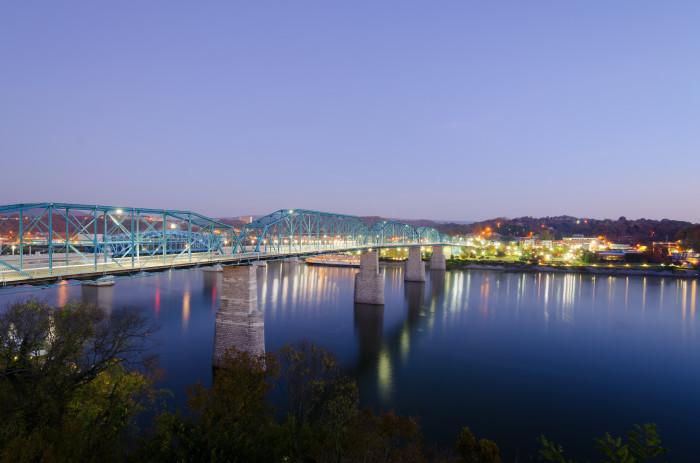 9. Walnut Street Bridge - Chattanooga