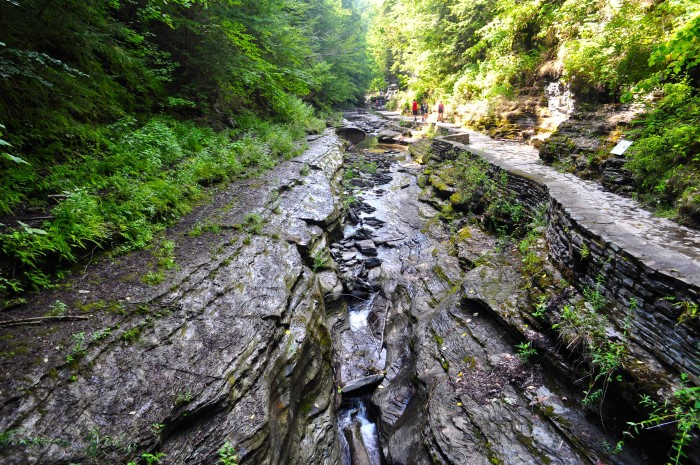 One of the Finger Lake's better known state parks, Watkins Glen State Park always leaves its visitors in total awe.