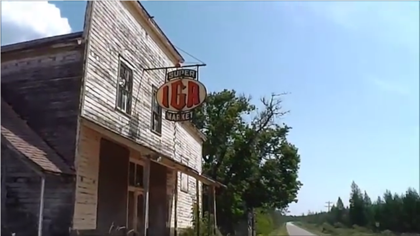 Find Gas Stations >> A Creepy Near-Ghost Town In Michigan
