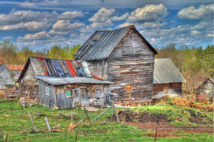 9. An old barn at Watton Farm in the Upper Peninsula.