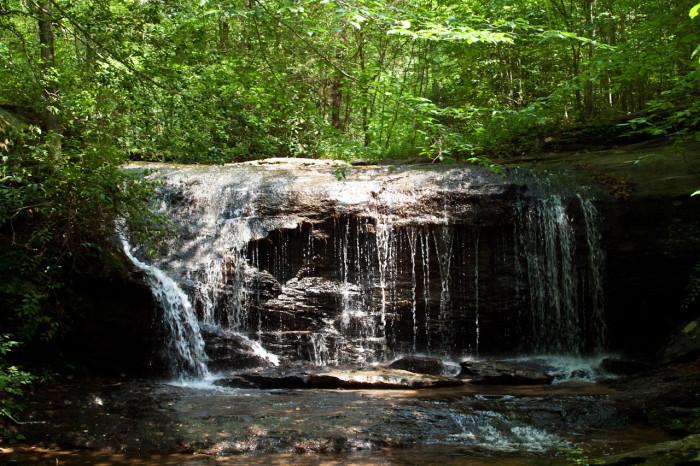 1. Wildcat Wayside Falls - a.k.a. Wildcat Branch Falls