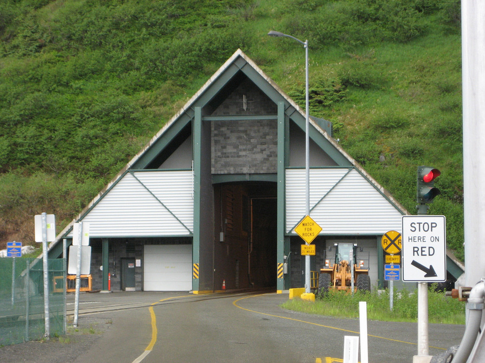 Alaska S Anton Anderson Memorial Tunnel Is Totally Unique