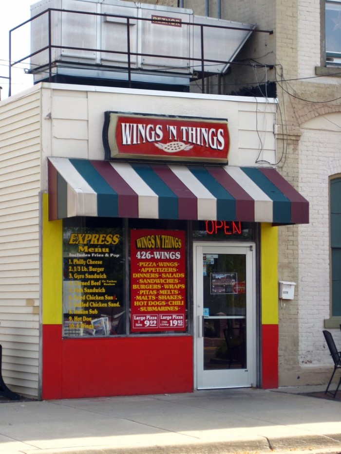 2) Wings and Things, Dexter