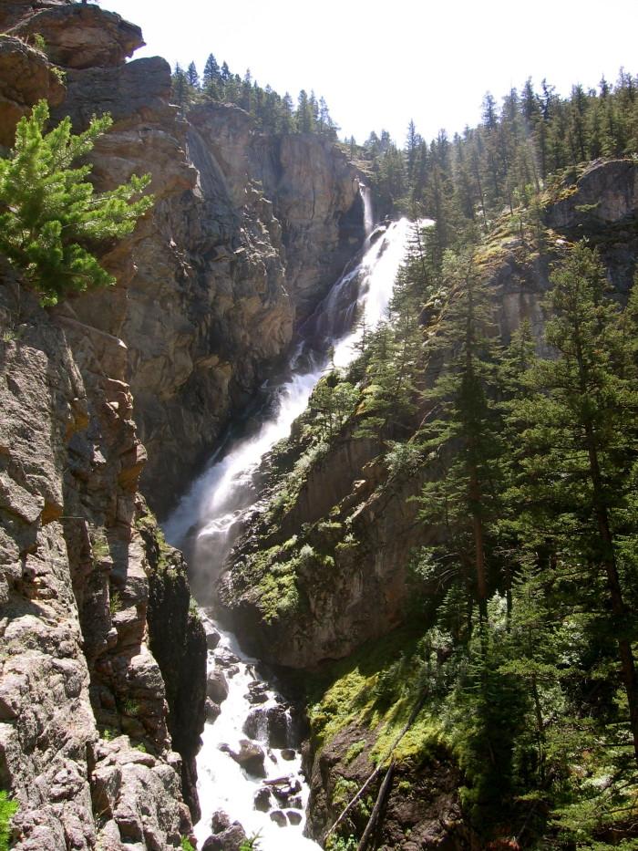 8. Woodbine Falls