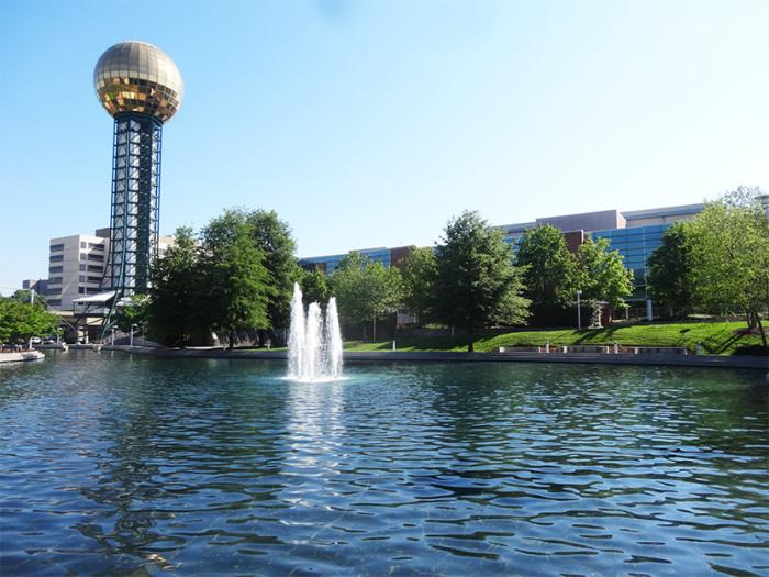 8. World's Fair Park - Knoxville