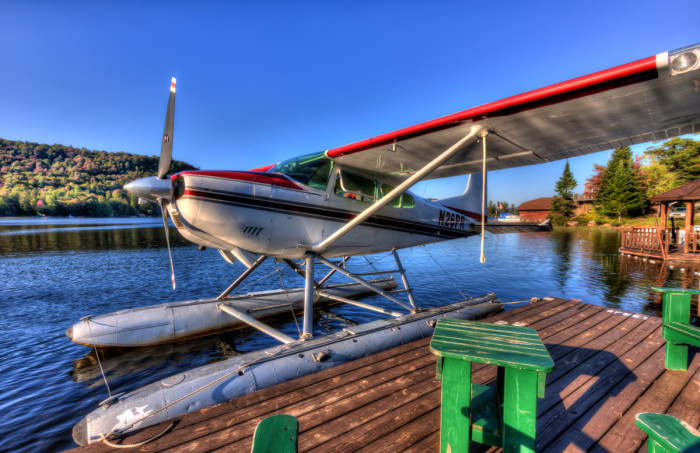 There are even several seaplane bases in the Adirondacks!