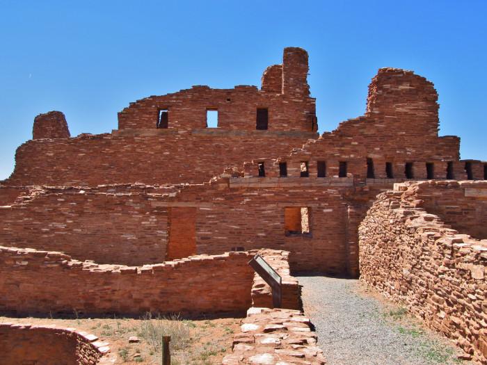 2. Abó Ruins Salinas National Monument Historical Marker, Mountainair, NM 87036