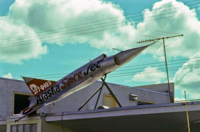 9. The Alaska Sabre Jet!