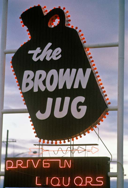 1. Ah, the all too familiar Brown Jug... I wonder if they still have this sign hanging up somewhere.