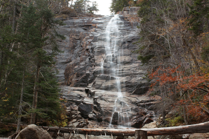 4. Arethusa Falls Hart's Location