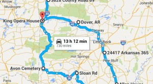 Here's The Ultimate Terrifying Arkansas Road Trip — And It'll Haunt Your Dreams