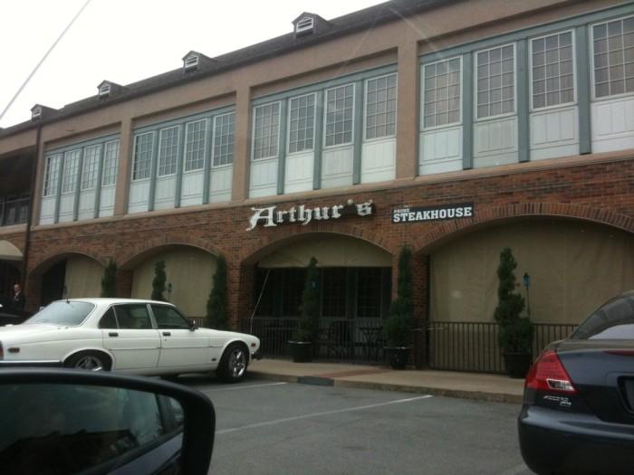 10. Arthur's Prime Steak House